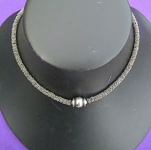 VTG Bali Solid Sterling Silver Hand-crafted Choker